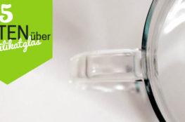 5 Fakten über Borosilikatglas