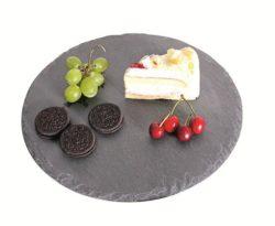 Dessertplatte Schiefer
