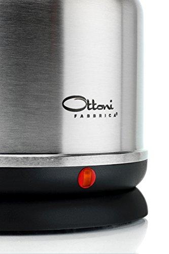 Edelstahl Wasserkocher Ohne Plastik von Ottoni Fabbrica