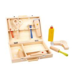Frisierkoffer Spielzeug aus Holz