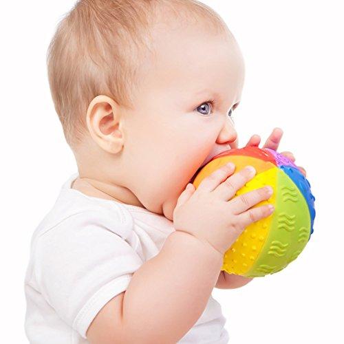 Greifball für Babys aus natürlichen Materialien