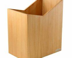 Holz Papierkorb von NATUREHOME