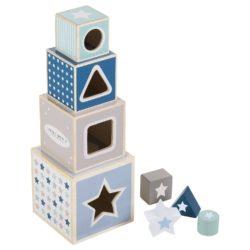 Holz-Stapelturm Spielzeug