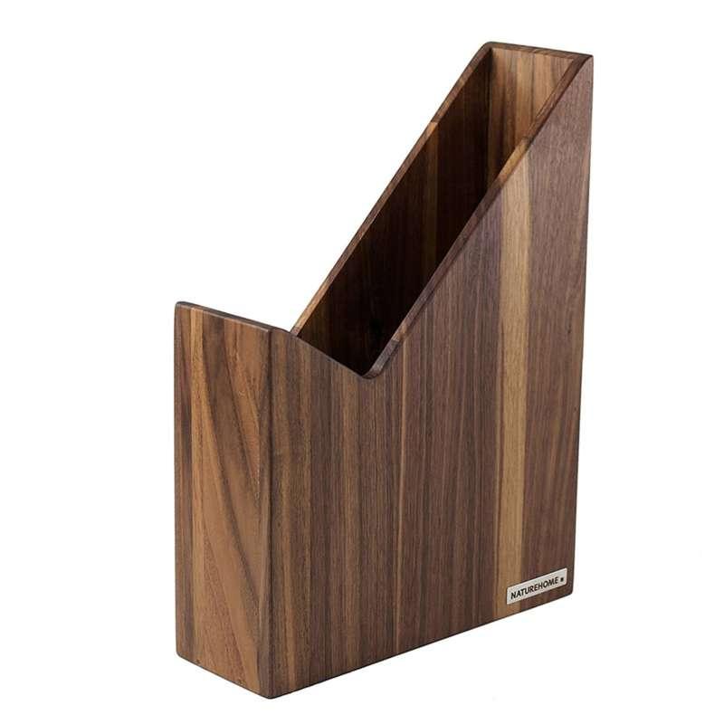 nussbaum holz stehsammler von naturehome. Black Bedroom Furniture Sets. Home Design Ideas