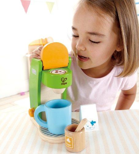 Kinder Holzkaffeemaschine