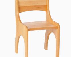 Holzstuhl für Kinder