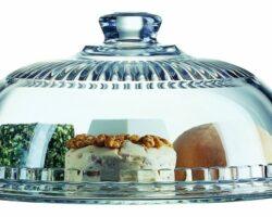 Käseglocke aus Glas