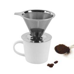 Kaffeeaufsatz Edelstahl - Kaffeefilteraufsatz