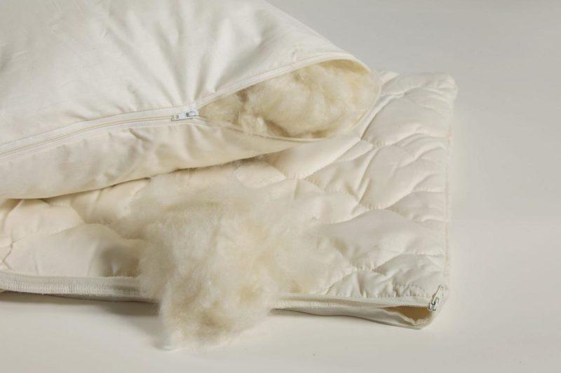 nat rliche kapok kissen von purenature. Black Bedroom Furniture Sets. Home Design Ideas