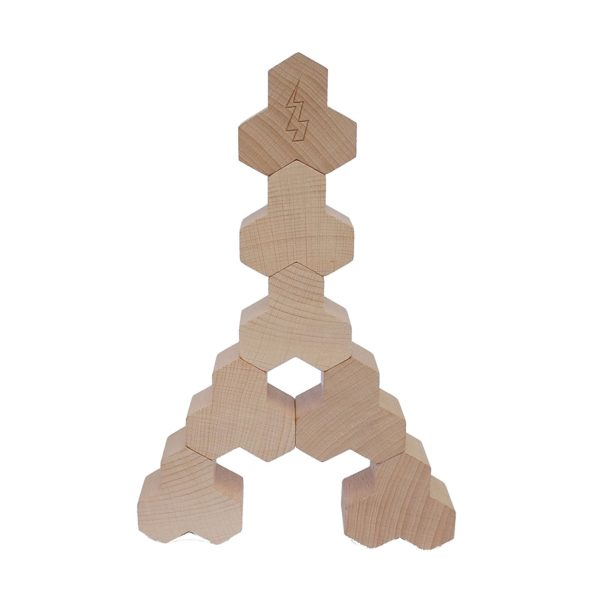 Holzbauklötze Kreativspielzeug