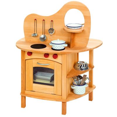 Spielküche aus Holz für Kinder
