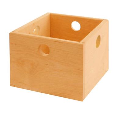 Spielzeugkiste aus Holz - \