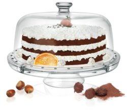 Tortenglocke aus Glas - Kuchenglocke