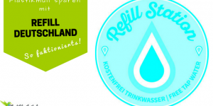 Unterwegs gratis Wasser auffüllen & Plastikflaschen sparen