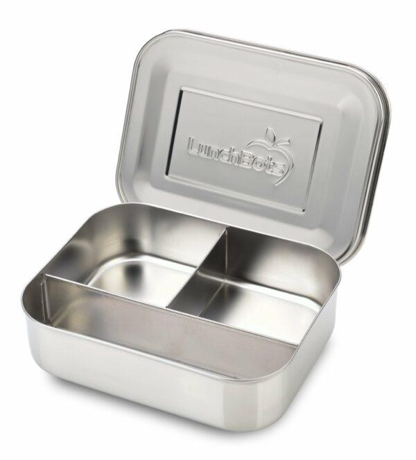 plastikfreie Brotbox offen