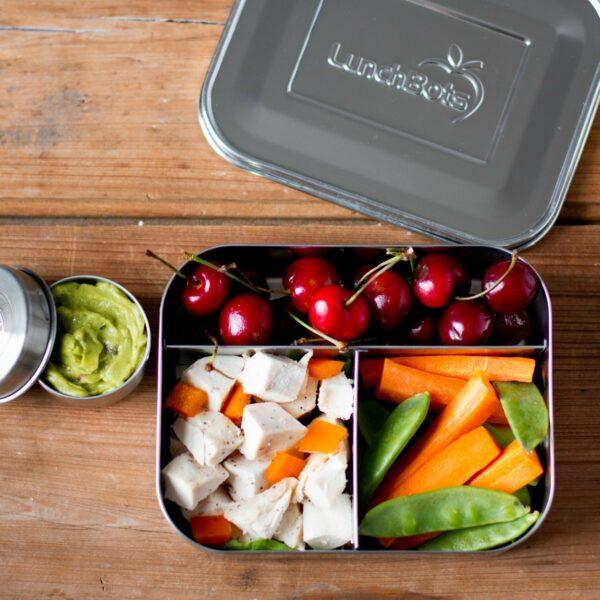 Essen in Brotbox ohne Plastik