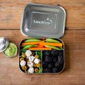 Brotbox ohne Plastik mit Essen